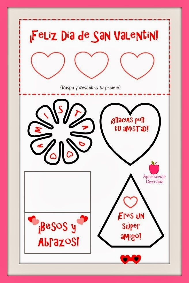 21 best ideas para san valent n images on pinterest valentines how to make and learning - Ideas para sanvalentin ...