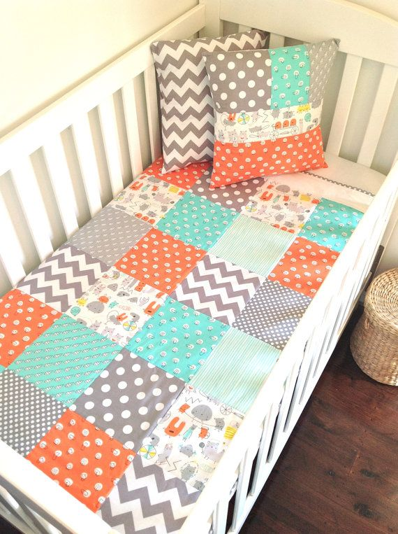 Monsters Baby boy Quilt-love this. Don't know what we are having but this is adorable I think for boy or girl.