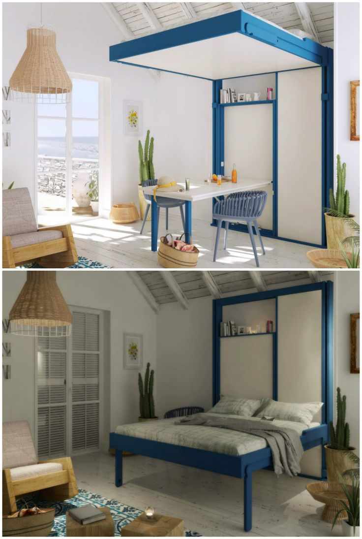 """From a classic Murphy bed to a high tech loft bed. Here are ten great beds for the space-challenged. The loft bed """"Pop and Roll"""" from the French company Espace Loggia can be pulled down at night without moving any furniture. The Evolution Ottoman TV bed's slim foot end contains a quiet lift mechanism and either a …"""