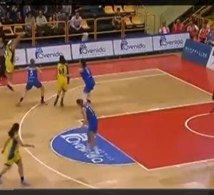 Liga Femenina - Basket féminin: prestation haut de gamme pour Hind Ben Abdelkader avec Cadi La Seu - vidéo