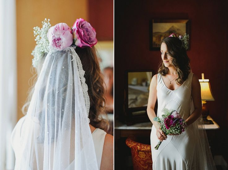 A Ghost Wedding Dress For An Informal Irish Country House Inspired By Music And Traditions