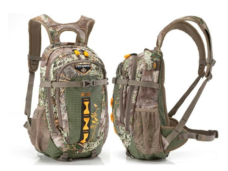 Tenzing TZ 1215W Women's Hunting Day Pack - This pack will not slow you down with a weight of just a little over two pounds. The 1,215 cubic inches of storage space is plenty for any day in the field. An internal aluminum frame carries your gear with ease and eliminates any pack sagging. With two lower compression straps you will have a convenient place to store your unused clothing layers, freeing up more room in the pack's body. One lateral compression strap can be used to secure your…