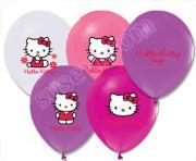 Hello Kitty Baskılı Balon 10 Adet Hello Kitty Konseptli Doğum Günlerinizde Kullanabileceğiniz Baskılı Balonlar.