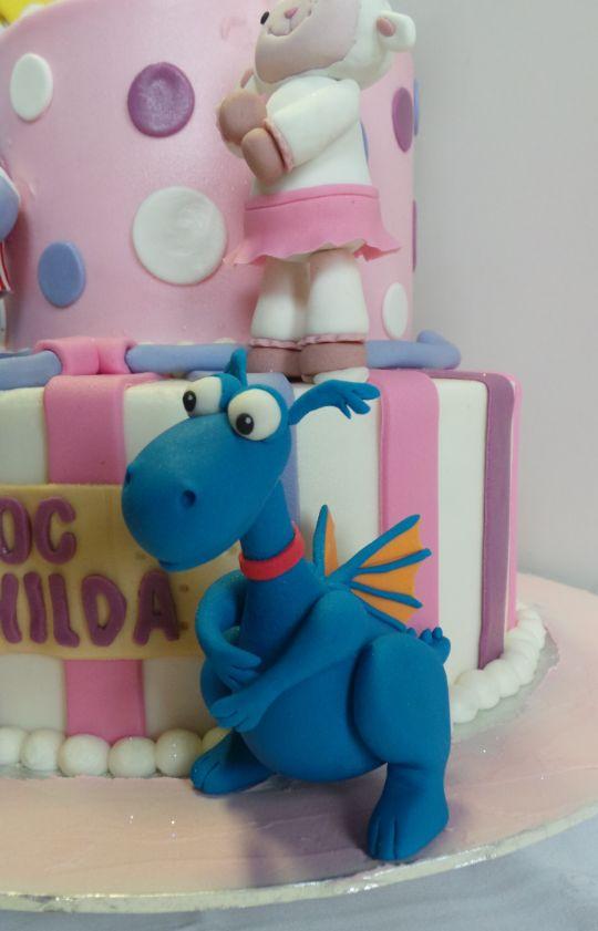 Stuffy Doc Mcstuffins Cake