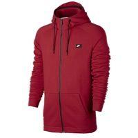 Nike Modern Full Zip Hoodie - Men's - Red / Black