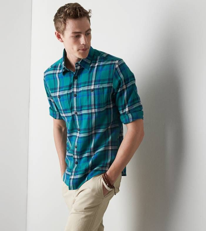 57 best plaid fall fashion 2014 images on pinterest fall for Awesome button down shirts