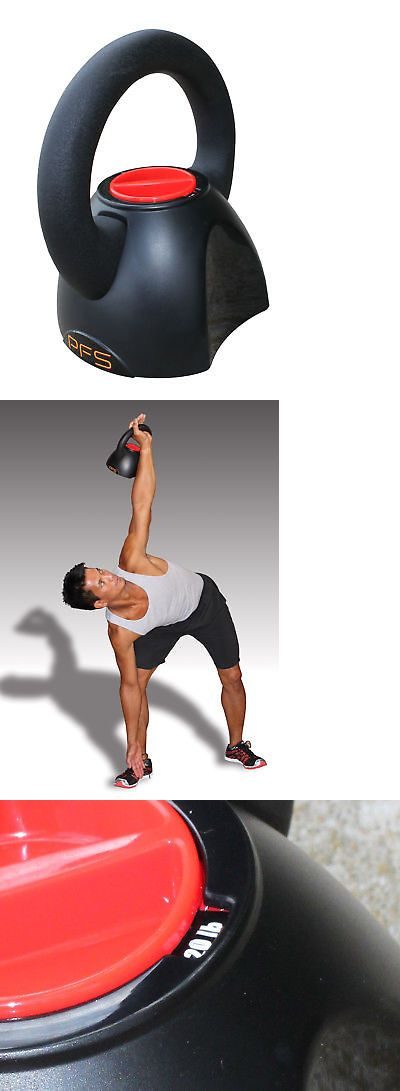 Kettlebells 179814: 5-20 Lb. Adjustable Kettlebell With Workout Dvd -> BUY IT NOW ONLY: $49.99 on eBay!