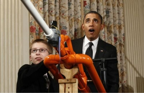 Who could resist a marshmallow cannon?