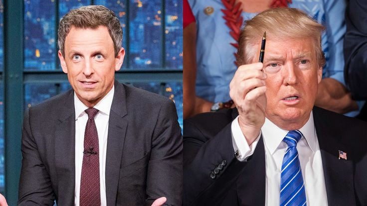 Seth Meyers Has a New Late-Night Strategy for Tackling Donald Trump - Vanity Fair