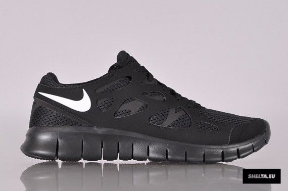 nike free run 2 black 09 570x378 Nike Free Run+ 2   Black