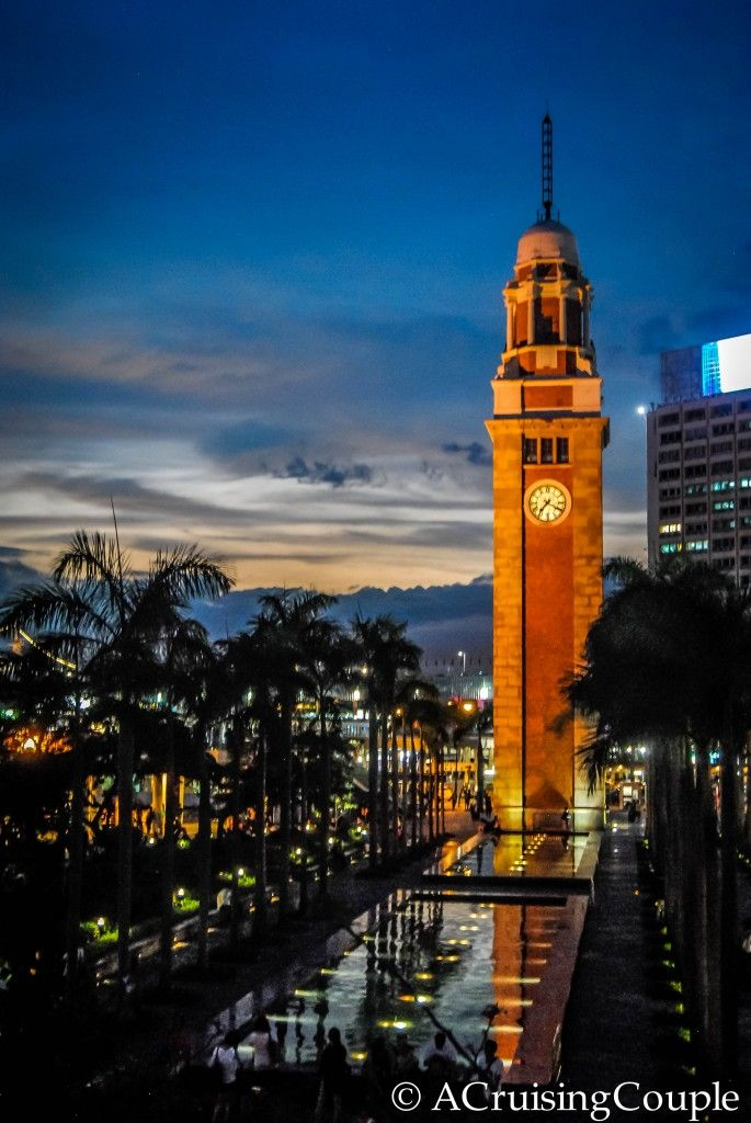 Clock Tower, Hong Kong. Often forgotten while photographing the Symphony of Lights but a beautiful subject nonetheless.