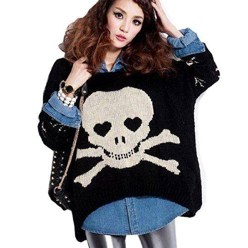 Fancy Dress Store Women's Plus Size Skull Pullover