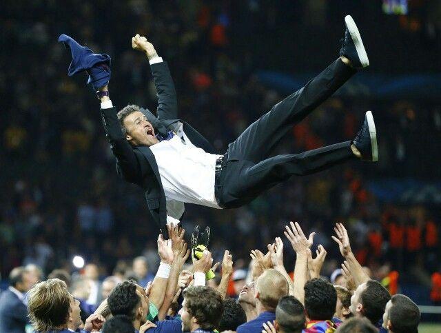 Luis Enrique FC Barcelona 2015 UEFA Champions