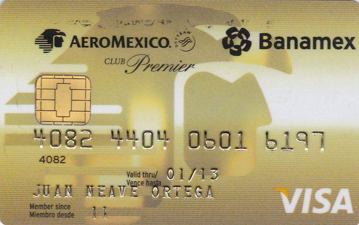 Aeromexico (Banamex, Mexico) Col:ME-VI-0100