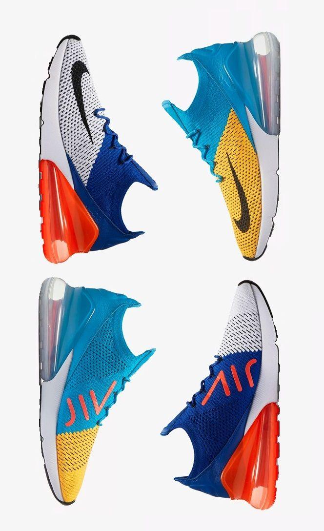 detailing 84948 c6a20 Nike Air Max 270 Flyknit Sienta el aire, tanto arriba como abajo, con las