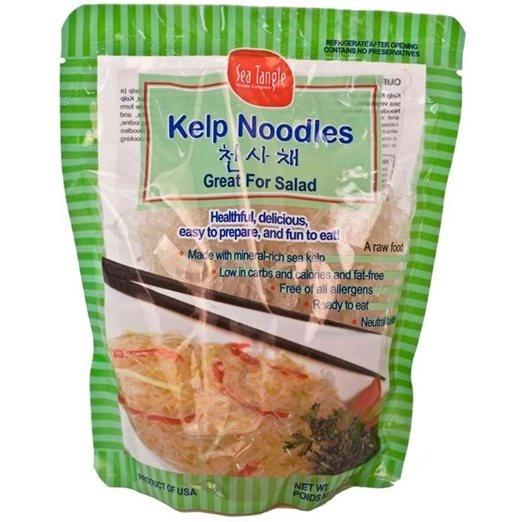 Kelp noodles. Delicious ulternative to spaghetti