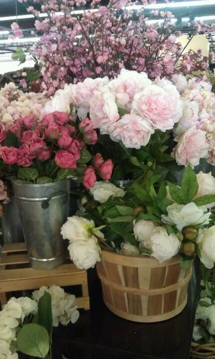 Silk Flowers At Pottery Barn For The Home Pinterest