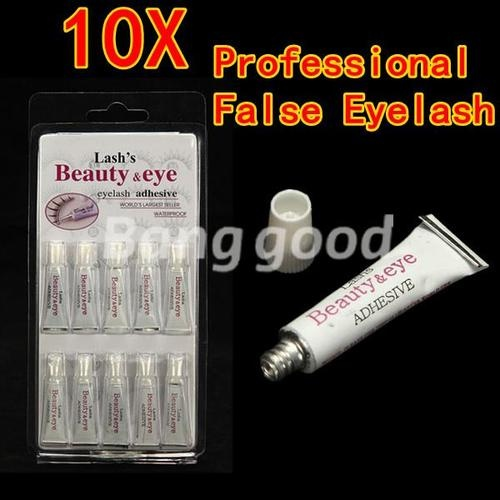 10X Colle Extension Faux Cils Waterproof Maquillage Yeux False Eyelash Glue Pro
