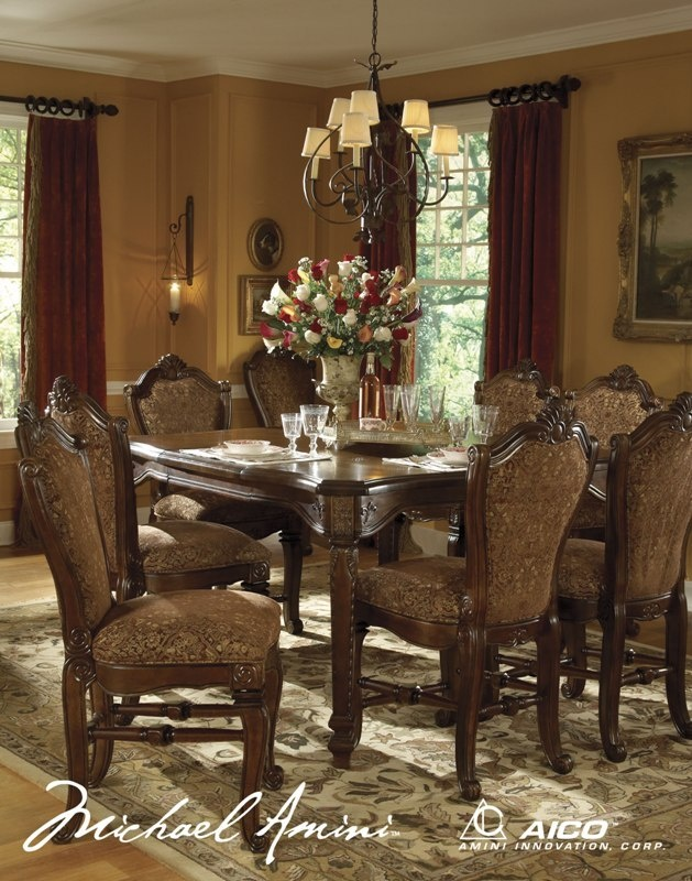 Interesting Aico Dining Room Sets Gallery House Designs