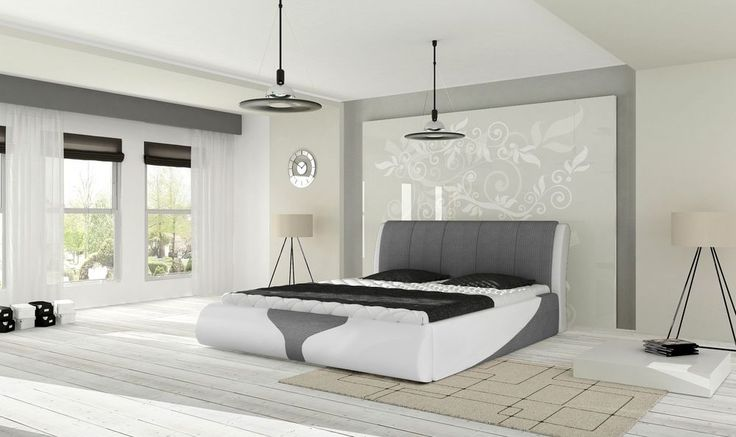 die besten 25 doppelbett design ideen auf pinterest kingsize bettrahmen bettgestellgr en. Black Bedroom Furniture Sets. Home Design Ideas
