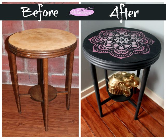 Waste Not Wednesday #43   Link Party Fun. Furniture Refinishing ...