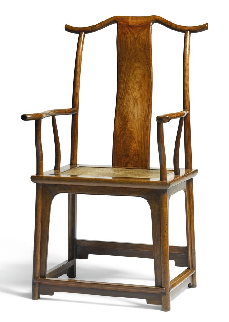 A hardwood official's hat armchair, 17th-18th century