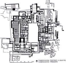 Planimetria generale del palazzo di Cnosso