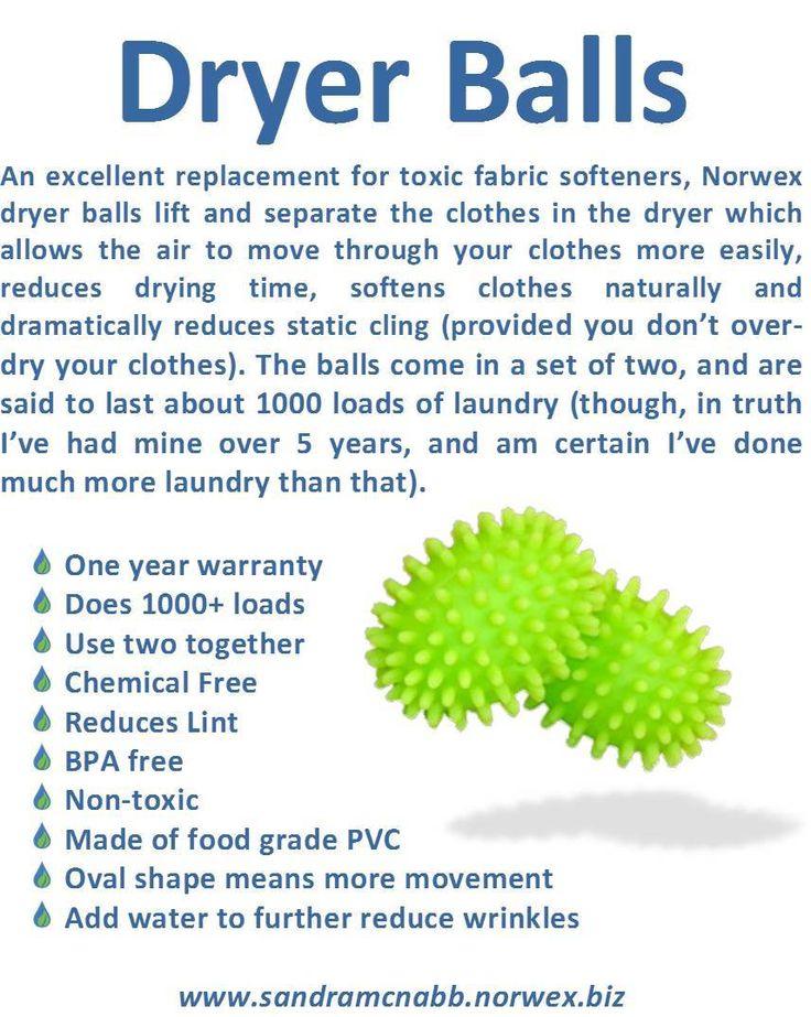 Norwex Dryer Balls Norwex Products Pinterest Norwex