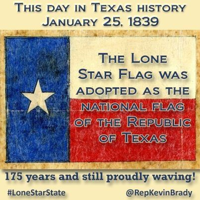 Texas State Flag history