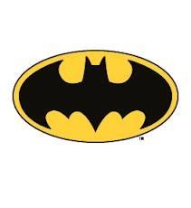 knutselen superhelden - logo Batman