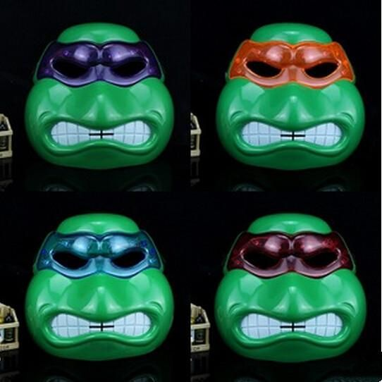 Hot Cheap Masquerade Mask TMNT Kids Prop with LED Light Halloween Party Masks Mardi Gras Masks Face Masks Online with $8.92/Piece on Jessiebee's Store | DHgate.com