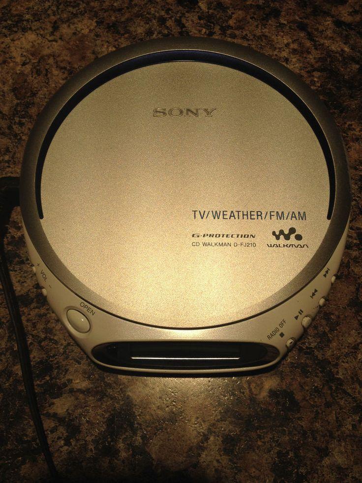 Sony CD Walkman TV/Weather/FM/AM  #Sony