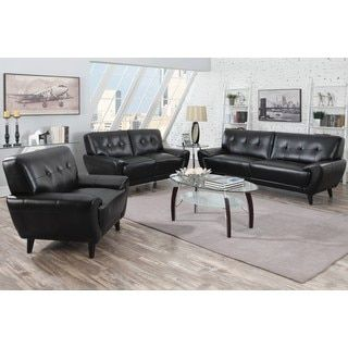 Shop for Hughes Mid-century Tufted Design Living Room Collection. Get free shipping at Overstock.com - Your Online Furniture Outlet Store! Get 5% in rewards with Club O! - 19134408