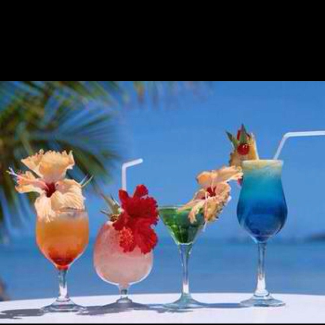 Tropical Cocktail Drink Recipes And Island Beach Or Umbrella Articles