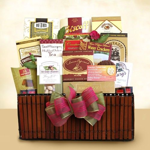 Forever in Your Heart Sympathy Basket