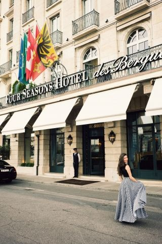 Photographer Jamie Beck stays at the Four Seasons Hotel des Bergues Geneva for a weekend getaway.