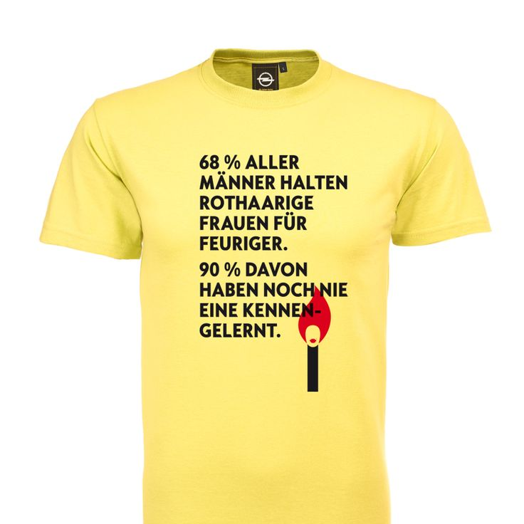 "Pretty cool shirt, don't you think? It's from our special campaign ""Umparken im Kopf""."