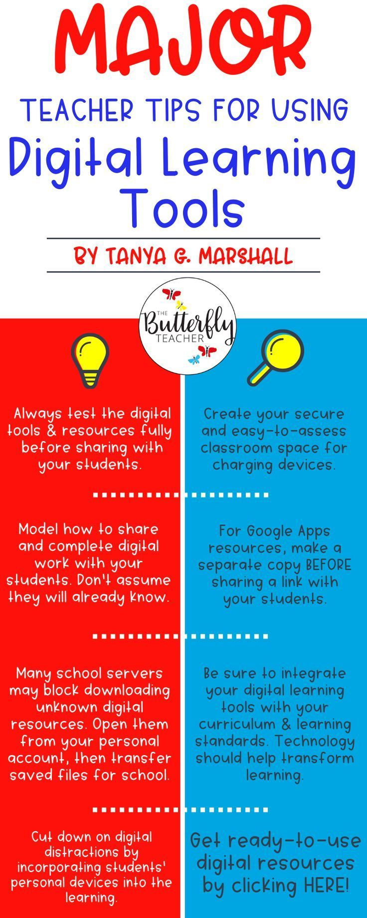 Using technology in the classroom is a great way to enhance learning and keep students engaged.   This list of tips for using digital tools effectivel…
