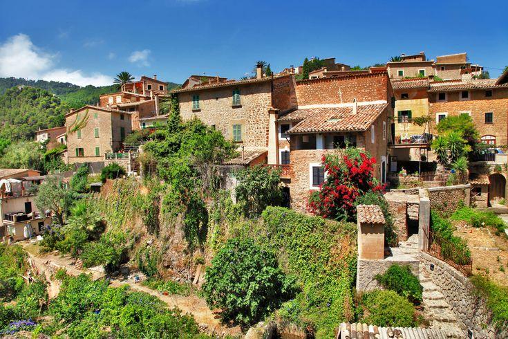 Le village de Deià