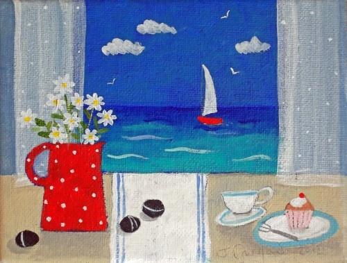 Tea by the Sea :)