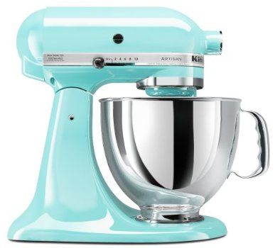 Tiffany Blue Mixer - It's actually Ice Blue according to Kitchenaid (I think), but someday I WILL have this.