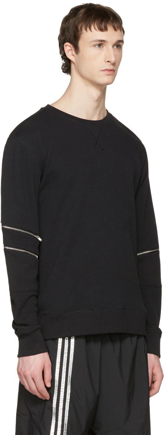Tim Coppens: Black Core Zipper Pullover   SSENSE