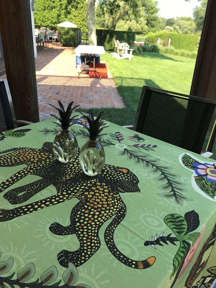 Ardmore Royal Leopard Table Cloth