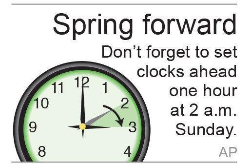 Daylight saving time 2015: Change clocks, check smoke detectors When Do The Clocks Change #WhenDoTheClocksChange