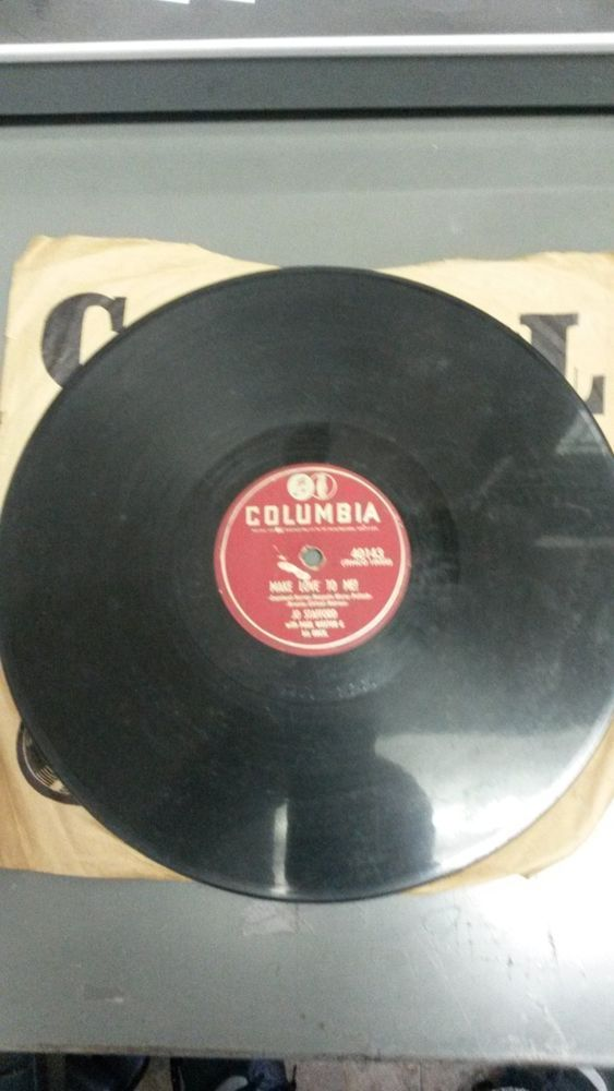 VINTAGE COLLECTIBLE ANTIQUE COLUMBIA 78 RPM RECORD-JO STAFFORD WITH PAUL WESTON