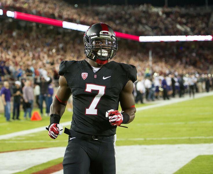 Stanford blackout uniforms Ty Montgomery | Blackout Football Uniforms | Pinterest