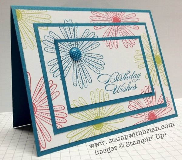 great tutorial on triple layer stamping