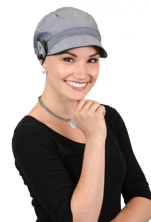 Barcelona Newsboy Hat for Petite Heads. Perfect coverage for chemo patients  Hats for cancer patients 627f5c1108d