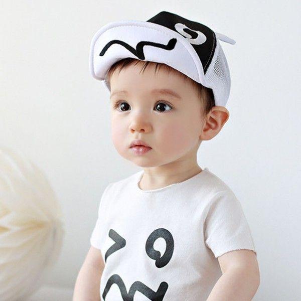 Carino Kid Baby Girl Boy Onda Rivet Berretto Da Baseball All'aperto protezione Del Cappello del Sole