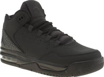 Nike Jordan Black Flight Origin Unisex Youth Arriving in all-black, the Nike Jordan Flight Origin arrives for kids. The black leather basketball profile features printed overlay detail, along with tonal branded accents. A visible Air heel provid http://www.comparestoreprices.co.uk/january-2017-8/nike-jordan-black-flight-origin-unisex-youth.asp